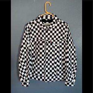 Checkered Levi's jacket